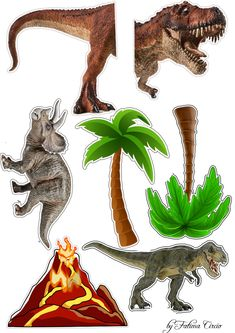 Jurassic Park, Jurassic World, Dinosaur Background, Lol Doll Cake, Dinosaur Cake Toppers, Silhouette Clip Art, Lol Dolls, Pictures To Draw, Kids Cards