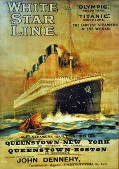 Free Titanic Homeschool Lapobook and unit study.Grab this awesome free hands on unit study and lapbook to enjoy a quick unit study about the Titanic. Rms Titanic, Titanic Ship, Titanic History, Titanic Photos, Vintage Advertisements, Vintage Ads, Titanic Poster, Art Graphique, Tarzan