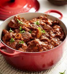 Lamb knuckles stew