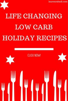 Low Carb Holiday Recipes #lowcarb #mealprep #keto #paleo #whole30.png