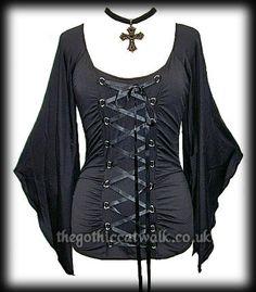 b8808ed918590 Plus Size Gothic Medieval Black Corset Bodice Top Bodice Top