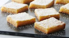 """Like all the best lemon bars, this easy version is absolutely packed with bright citrus flavor. We could go on and on about the creamy filling and how it strikes that perfect balance of tart and sweet (it really does), but we had you at """"browned butter,"""" didn't we?"""
