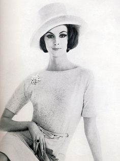 Wilhelmina, photo by Karen Radkai, Vogue US Feb. 1962