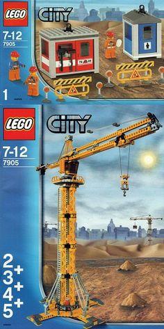 7905-1: Building Crane | Brickset: LEGO set guide and database