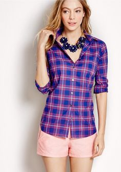 Buy women's clothing from J.Crew Factory including women's dresses, blazers and boots, all on sale. Find great prices on skirts, chinos, and sweaters. Sweater Outfits, Cute Outfits, Peach Shorts, Skirts With Boots, Weekend Wear, Summer Outfits, Dress Up, Women's Clothing, Clothing Ideas