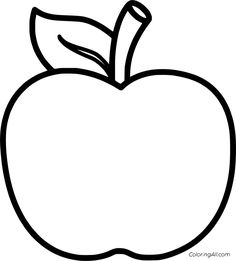 33 free printable Apple coloring pages in vector format, easy to print from any device and automatically fit any paper size. Apple Coloring Pages, Animal Coloring Pages, Colouring Pages, Printable Coloring Pages, Coloring Pages For Kids, Coloring Sheets, Fairy Coloring, Kids Coloring, Mandala Coloring