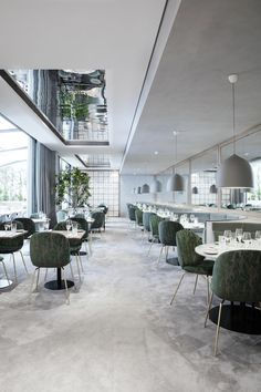Restaurant Sforza Visconti par umdum design | Restaurante - Bar ...
