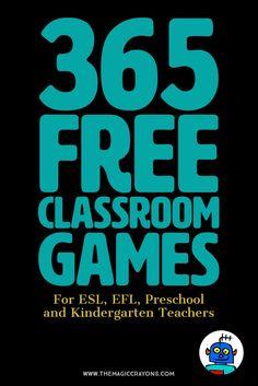 365 Free Classroom Games