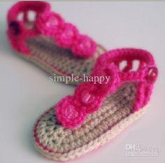 Wholesale Crochet Shoes - Buy 20% OFF! Crochet Knitting Baby Crochet Shoes! Baby Cotton Shoes! Baby Slippers Sandals! 0-12 M. 15 P, $4.28 | ...