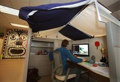 #Cubicle tent Wish I could put this up on my cubicle!