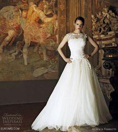 Alberta Ferretti Wedding Dresses 2013