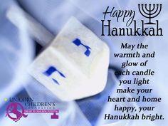 Happy Hanukkah from Unicorn Children's Foundation!