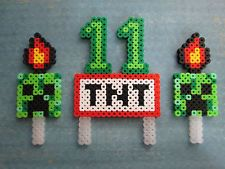 It's Mine Craft TNT Birthday Party Favor Cupcake Cake Topper Age Personalized