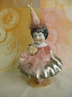 ♥doll ballerina with a tart tin tutu