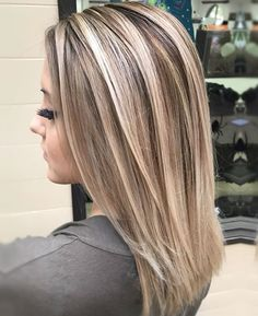 Blonde with lowlights https://www.facebook.com/shorthaircutstyles/posts/1720565254900581