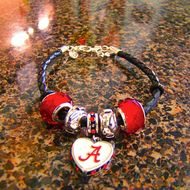 This week only: Save 10% when you order our exclusive hand crafted jewelry online at davidchristophers.com    This Alabama Football bracelet is normally $54.99, but is $49.50 when you buy it online:    http://davidchristophers.goodsie.com/alabama-football-bracelet