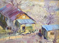 Artist: Walt Gonske - Title: An Afternoon in Dixon , NM
