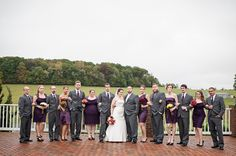 fall wedding and sassy bridal party frederick, md amanda mcmahon ...