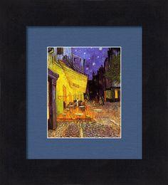 Vincent Van Gogh Cafe Terrace At Night Print