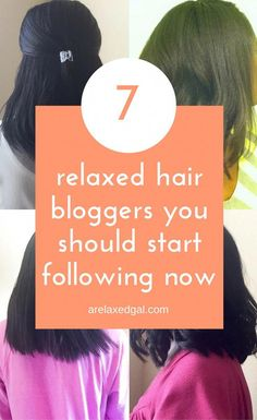 7 Great Relaxed Hair Ladies To Follow