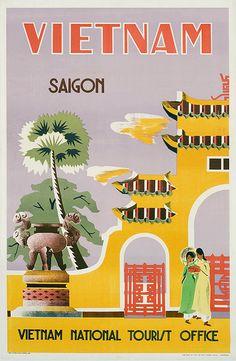 Saigon poster 1962 | Flickr - Photo Sharing!