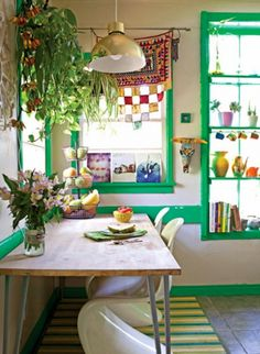 Bold Design Idea: Paint Your Window Frames to Create Instant Appeal