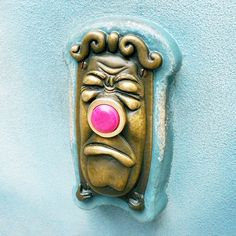 alice in wonderland doorbell-I want this for my house!