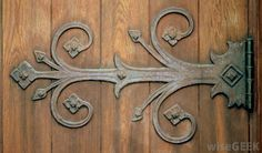 Decorative Brackets and hinges - Yahoo Image Search Results Old Wooden Doors, Wooden Gates, Wood Doors, Gate Hinges, Flush Hinges, Strap Hinges, Decorative Brackets, Hinges For Cabinets, Kitchen Cabinets