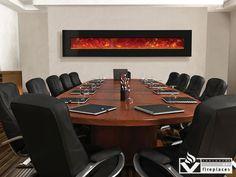 Wall-mount or built-in Electric Linear Fireplace| WM-BI 106