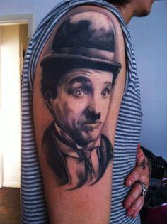 Charlie Chaplin.By Pawel Stroinski