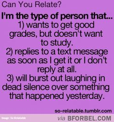 Can You Relate?<<<< THIS IS ME!!! @Tali Shoshani Chris Lynch Ratliff and @Rachel smith can prove it!!!!!!!