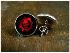 Nightmare before Christmas Jack Skellington Sally post earrings USA MADE & SHIPPED Silver plated wedding birthday Gifts movie jewelry Nerd Jewelry, Nightmare Before Christmas Wedding, Video Games Girls, Nerd Fashion, World Of Gumball, Gears Of War, Darwin, Custom Jewelry, Birthday Gifts