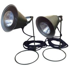 Vintage Ddr Veb Narva Pre Berlin Wall Light - Pair on Chairish.com