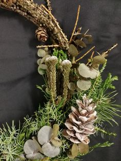 Grapevine Wreath, Grape Vines, Diy Projects, Wreaths, Home Decor, Decoration Home, Door Wreaths, Room Decor, Vineyard Vines