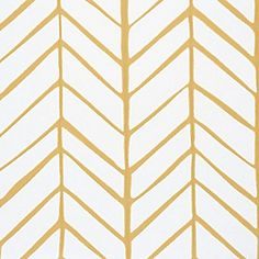 Feather Wallpaper - Mustard | Serena & Lily