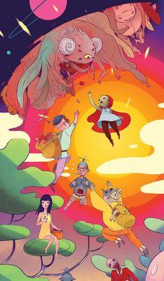 theartofanimation: Boya Sun   Exhibition-ism