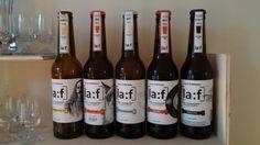 [la:f] beer design, Beer bottle design, branding, beer brand