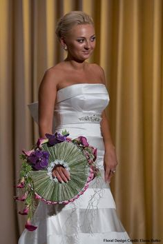 European Bridal Bouquet  Floral design credit: Elena Butko
