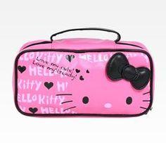 Hello Kitty Pen Pouch  Pink Logo Hello Kitty Bag, Sanrio Hello Kitty, Pouch 64df8b8e29