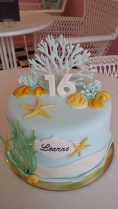 Beautiful sea cake design -   Soutenez-nous dans le développement en franchise de nos salons de thé vintages ! Support us to develop  our vintage tearooms !  Facebook : https://www.facebook.com/MissAudreysCupcakes/ Ulule : http://fr.ulule.com/audreys-cupcakes/  Merci :D ! Thank you :D !