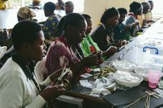 we're not only training these artisans of masoro, but also guiding them on how to participate in the global marketplace. Story Of The World, Tell The World, Building Renovation, Higher Learning, Good Cause, Journalism, Social Justice, Purpose, Workshop