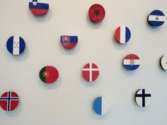 nautical flags at the Perez
