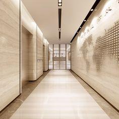 Denver2010采集到电梯厅/电梯轿厢(88图)_花瓣建筑设计