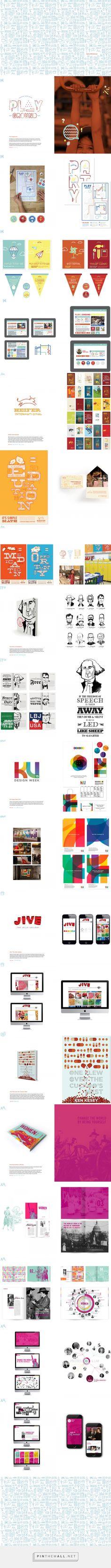 Senior Portfolio - KU Visual Communication - created via   - communication on resume