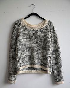 handmade in Brooklyn NY Knit Fashion, Look Fashion, Winter Fashion, Fashion Mode, Street Fashion, Womens Fashion, Moda Crochet, Knit Crochet, Poncho Pullover