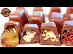 Chocolate Recipes : How to make ICE CUBE TRAY CHOCOLATES - Recipe - Chocolate Recipes Video Chocolate Recipes This simple how to make ice cube tray chocolates recipe is so easy to make with wonderful flavours like caramel, Peanut Butter Ice Cream, Chocolate Peanut Butter, Delicious Chocolate, Chocolate Recipes, Ice Cube Trays, Ice Cubes, Ice Tray, Candy Recipes, Fall Recipes