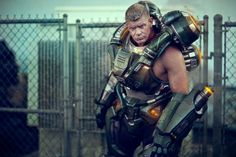 Lee Reherman, who is dressing up here as Firefall's Typhon