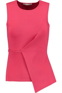 Shop Alexander Wang Asymmetric Stretch-knit Peplum Top from stores. Plus Size Fasion, Jet Set, Discount Designer Clothes, Couture, Everyday Outfits, Clothes For Sale, Lady, Alexander Wang, Celebrity Style