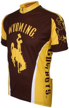 NCAA Mens Adrenaline Promotions Wyoming Cycling Jersey XXXLarge     Find  out more about the great product at the image link. 6f17f432b