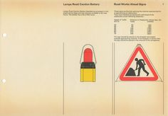 Post Office Road Work Guarding Manual in 1